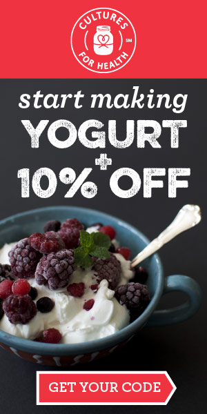 Ready to make yogurt?